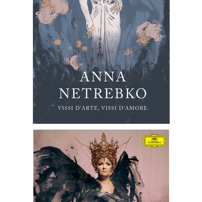 Key Visual Illustration for Opera Singer Anna Netrebko New Album