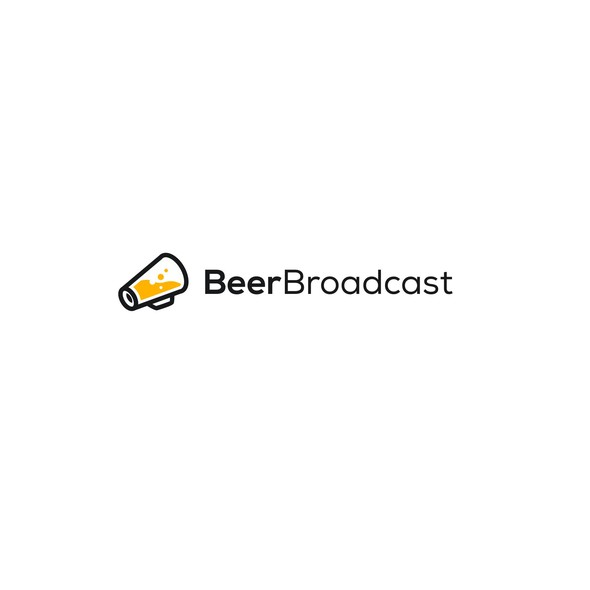 Broadcasting logo with the title 'Beer Broadcast'
