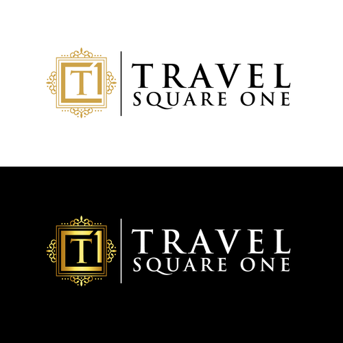Travel agency brand with the title 'Travel SquareOne'