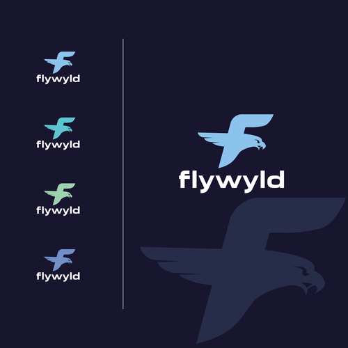 Fly brand with the title 'flywyld logo'