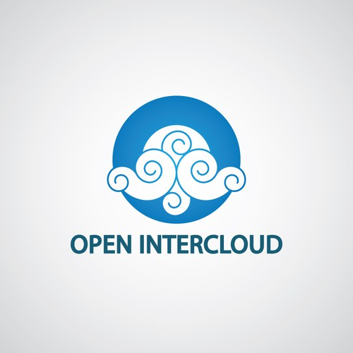 Cloud computing design with the title 'Logo for Cloud-Computing Non-Profit Organisation'