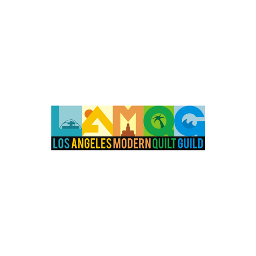 Cloth logo with the title 'LAMQG '