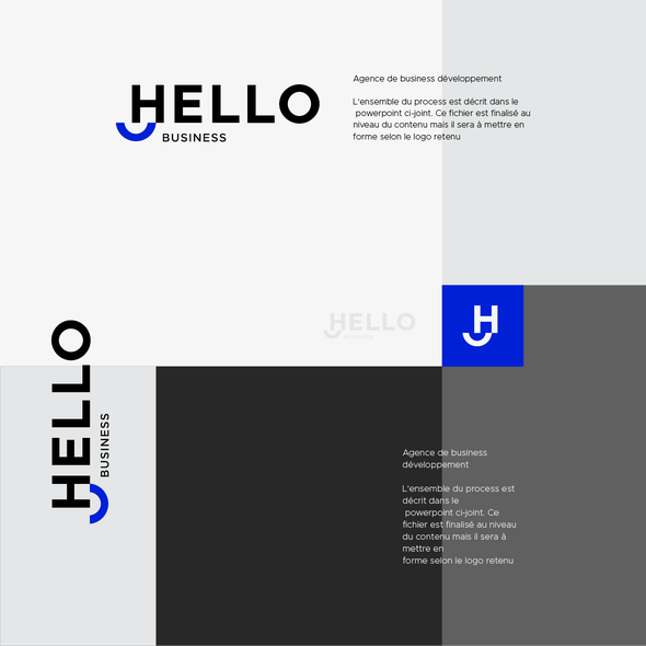 Hello logo with the title 'Hello Business'
