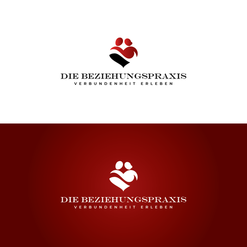 Relationship logo with the title 'Die Beziehungspraxis'