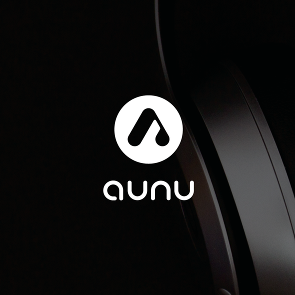 3D letter logo with the title 'Logo for Aunu'