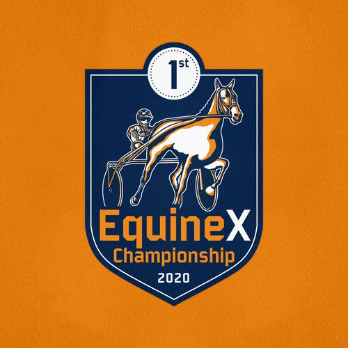 Championship design with the title 'EquineX Championship'