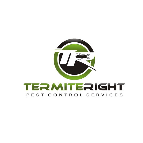 Black and green logo with the title 'TermiteRight'