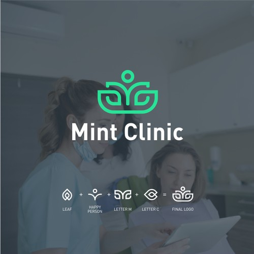 Mint logo with the title 'Mint Clinic'