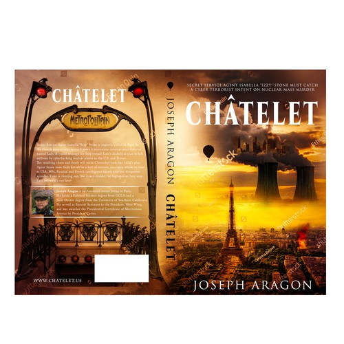 International design with the title 'CHÂTELET'