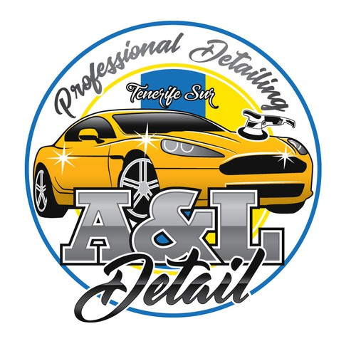 Detailed logo with the title 'Logo for Car Detailing services'