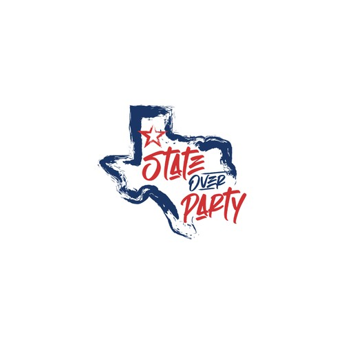 Politics logo with the title 'State over Party'