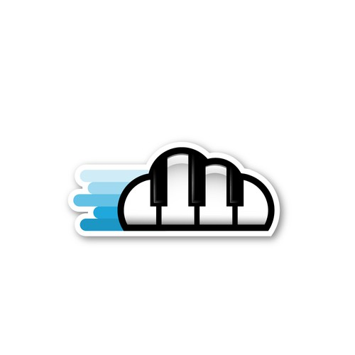 Piano keys design with the title 'Musician Authority'