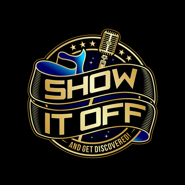 Singer design with the title 'LOGO FOR SINGING CONTEST'
