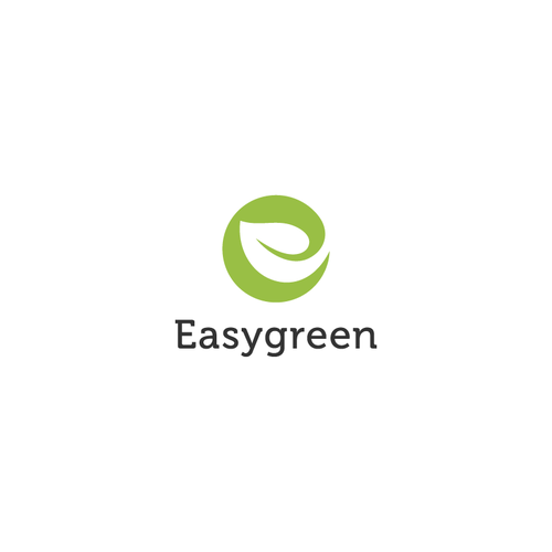 Tree logo with the title 'Combination logo design for Easygreen'