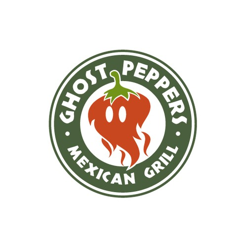 Spicy logo with the title 'It's a Ghost Pepper'