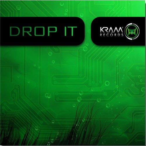 DJ artwork with the title 'Create the next illustration for Kram Records'