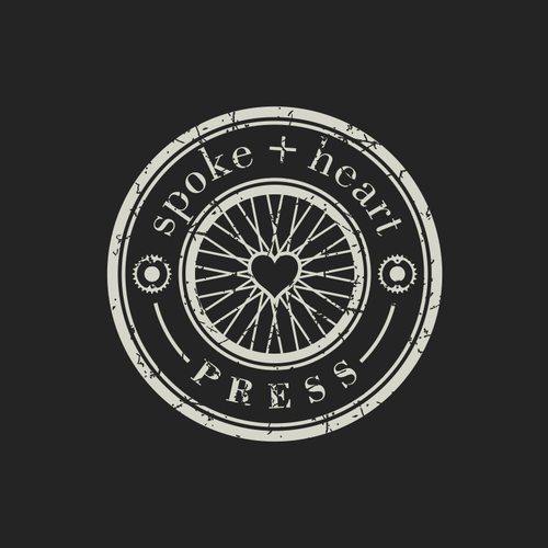 Electric bike logo with the title 'wheel'