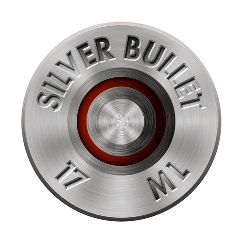 Bullet logo with the title 'Silver Bullet'