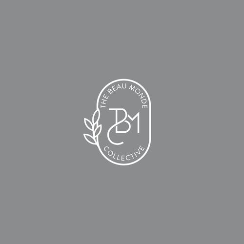 Art Nouveau design with the title 'The Beau Monde Collective - Logo Design'