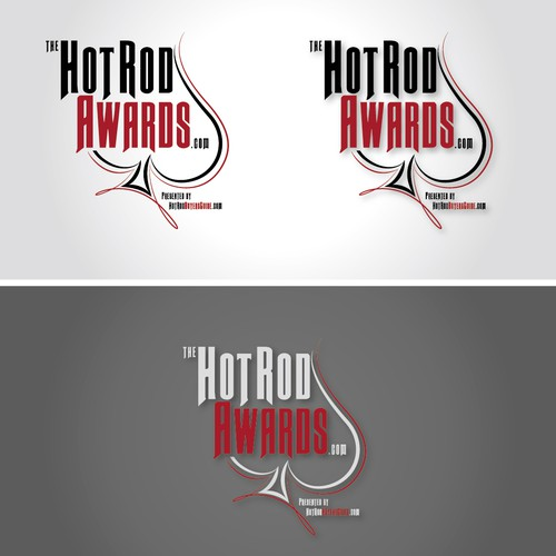 Hot rod logo with the title 'Hot Rod Awards'