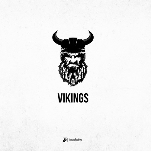 Circuit board design with the title 'Viking'
