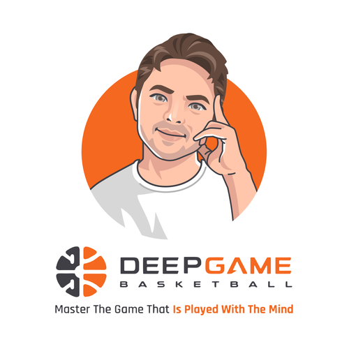 Mascot artwork with the title 'Deep Game '