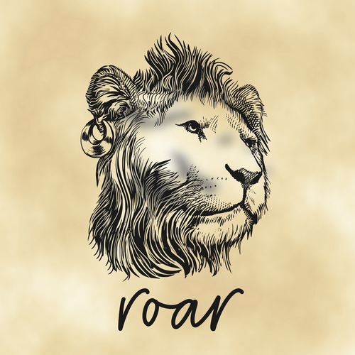 Roar design with the title 'ROAR'