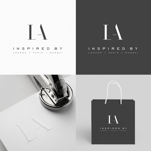 Inspirational design with the title 'Inspired by LA'