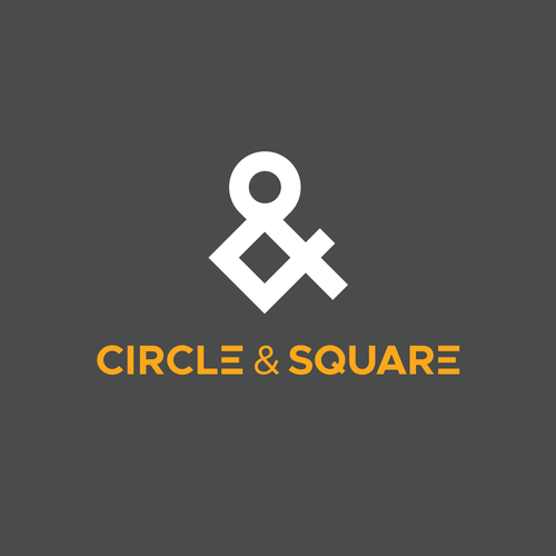 Corner logo with the title 'Logo for a company called Circle & Square'