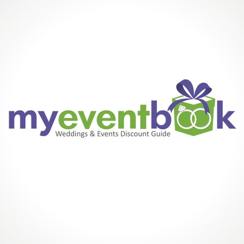 Ring logo with the title 'My event book'