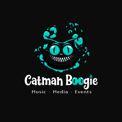Brand logo with the title 'Catman Boogie'