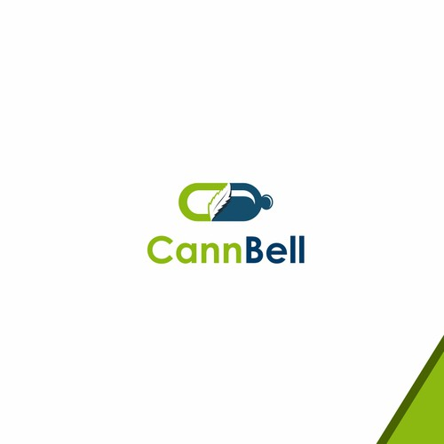 Bell logo with the title 'CannBell'