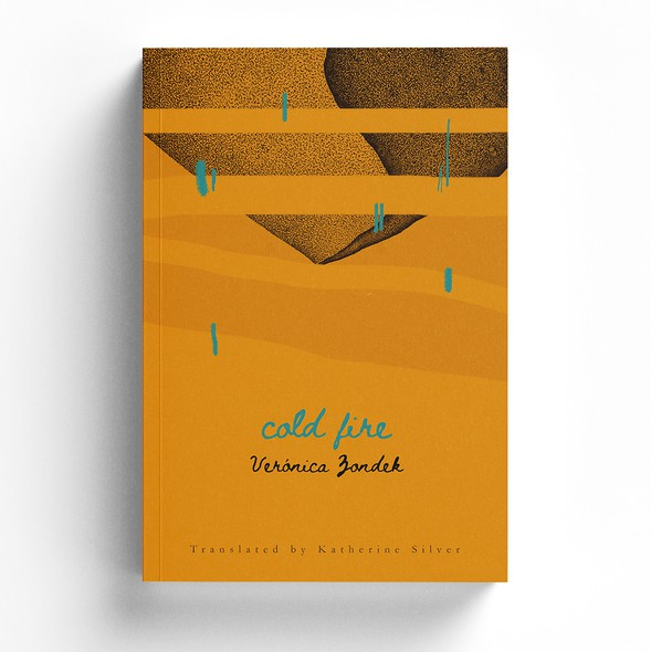 Modern book cover with the title 'Cold fire'