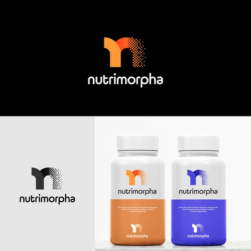 Nutrition brand with the title 'Nutrimorpha'
