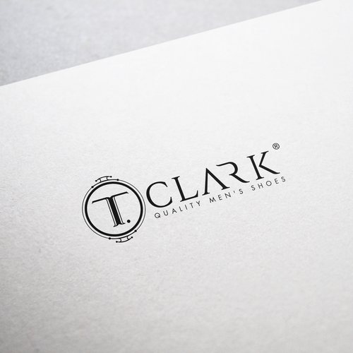Men's fashion design with the title 'T. Clark'