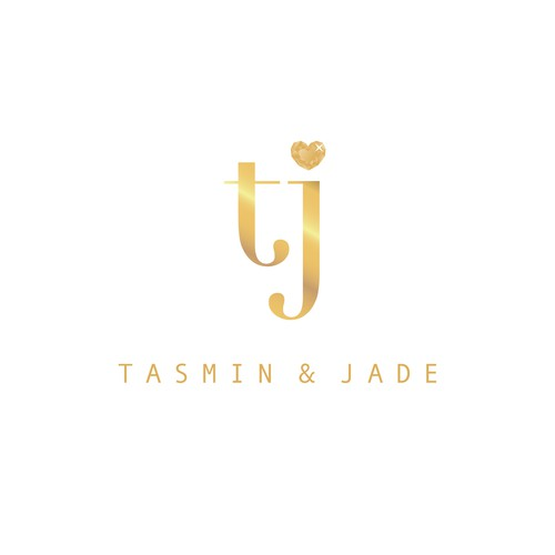 Jewel logo with the title 'Tasmin & Jade'