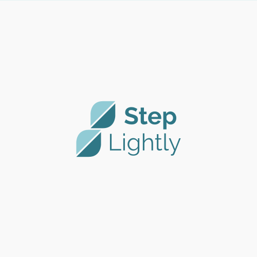 Step logo with the title 'Step Lightly '