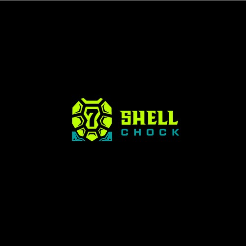 Shell logo with the title 'Logo for a helmet company'