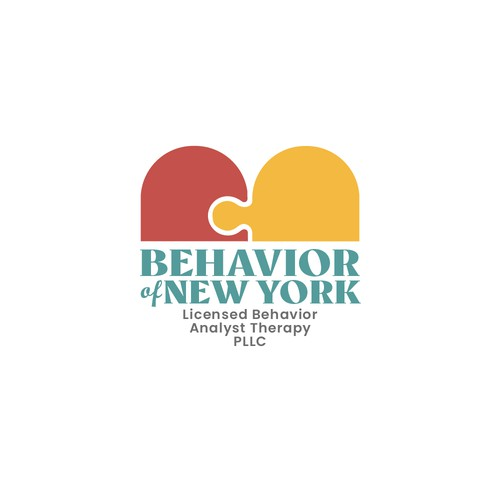 Autism logo with the title 'Behavior of New York'