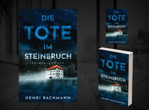 German design with the title 'Die Tote im Steinbruch'