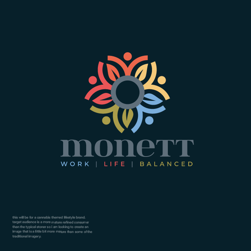 People logo with the title 'Monett'