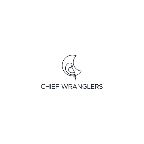Animal logo with the title 'Bold logo concept for Chief Wranglers'