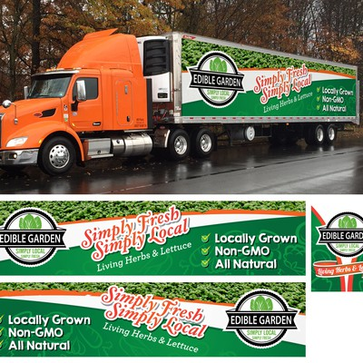 EDIBLE GARDEN TRAILER WRAP