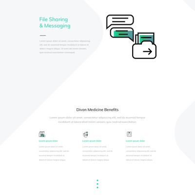 Medical & Pharmaceutical homepage design