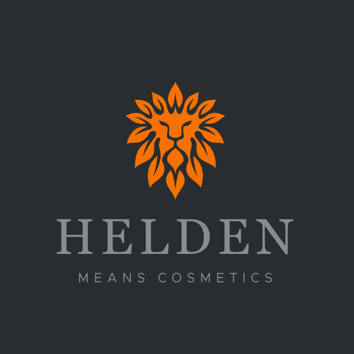 Lion King logo with the title 'HELDEN'