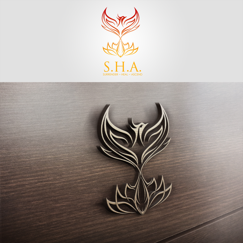 Mindfulness logo with the title 'Logo for S.H.A.'