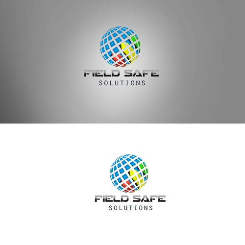 Eyecatching logo with the title 'Create a LOGO connecting PEOPLE all OVER the GLOBE technology design.'