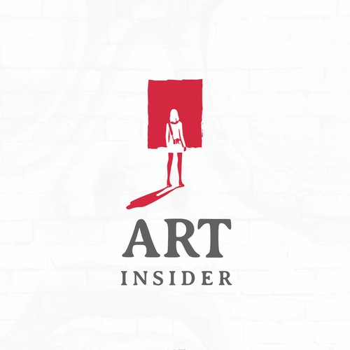Shadow design with the title 'Art insider '