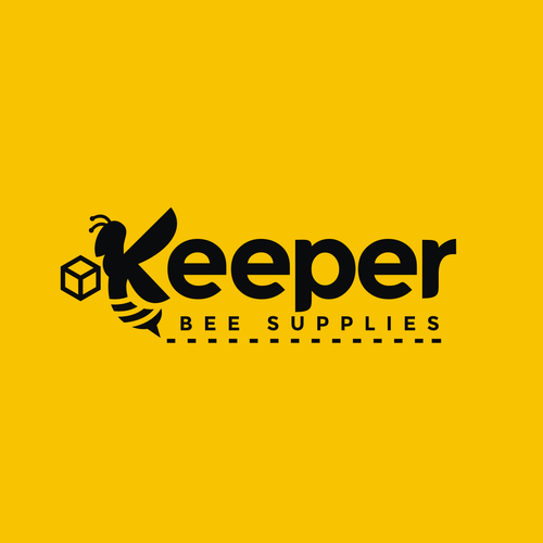Honeybee design with the title 'Logo design for a bee keeper equipment supplier.'