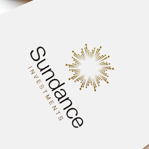 Print design with the title 'Sundance Investments'